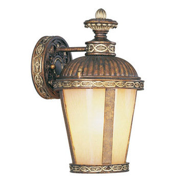 Livex Lighting Seville 1 Light Outdoor Single Wall Sconce