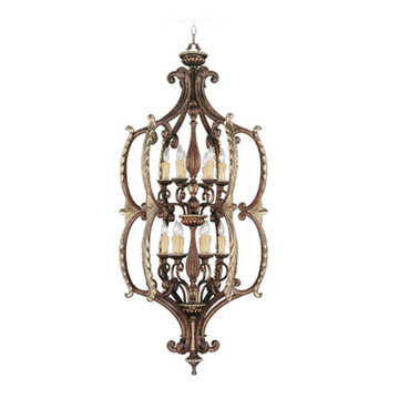 Livex Lighting Seville 12 Light Foyer Lamp