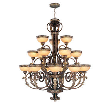 Livex Lighting Seville 18 Light Chandelier