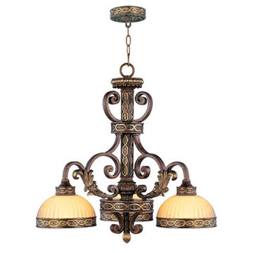 Livex Lighting Seville 3 Down Light Chandelier