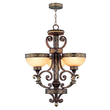 Livex Lighting Seville 3 Up Light Chandelier