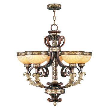 Livex Lighting Seville 5 Up Light Chandelier