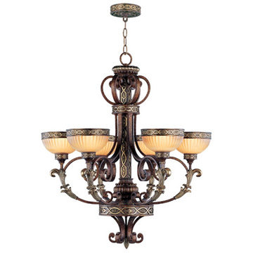 Livex Lighting Seville 6 Light Chandelier