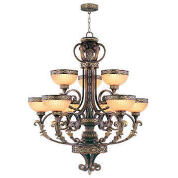 Livex Lighting Seville 9 Light Chandelier