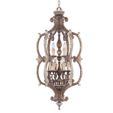 Livex Lighting Seville 9 Light Foyer Lamp