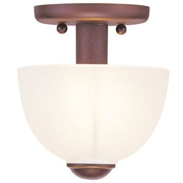Livex Lighting Somerset 1 Light Ceiling Mount Light