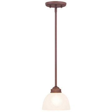 Livex Lighting Somerset 1 Light Mini Pendant Light