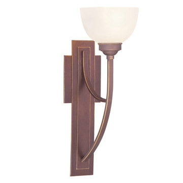 Livex Lighting Somerset 1 Light Petite Tall Wall Sconce