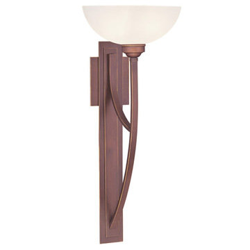 Livex Lighting Somerset 1 Light Tall Wall Sconce