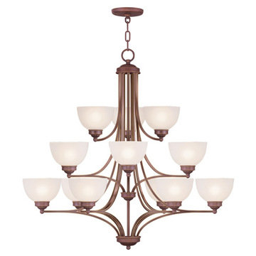 Livex Lighting Somerset 12 Light 3-Tier Chandelier
