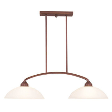 Livex Lighting Somerset 2 Light Billiard And Island Light