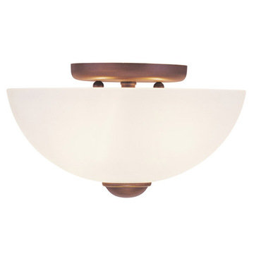 Livex Lighting Somerset 2 Light Ceiling Mount Light