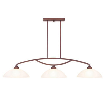 Livex Lighting Somerset 3 Light Billiard And Island Light