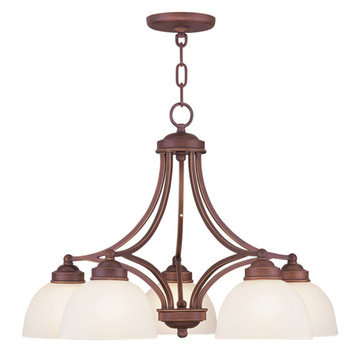 Livex Lighting Somerset 5 Down Light Chandelier