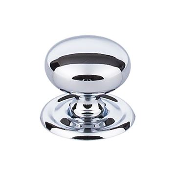 Top Knobs Britannia 1 1/4 Inch Victoria Knob With Back Plate