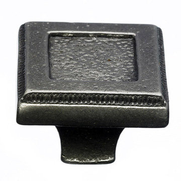 Top Knobs Britannia Square Inset Knob