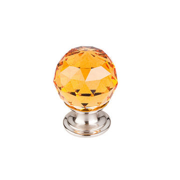 Top Knobs Crystal Faceted 1 1/8 Inch Knob