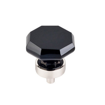 Top Knobs Crystal Octagon 1 3/8 Inch Knob