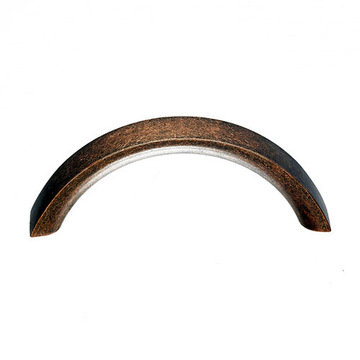 Top Knobs Nouveau Crescent 3 Inch Pull