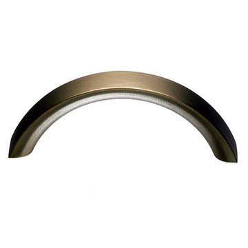 Top Knobs Nouveau Crescent 5 1/16 Inch Pull