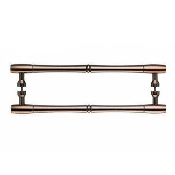 Top Knobs Nouveau Bamboo Back To Back Door Pull