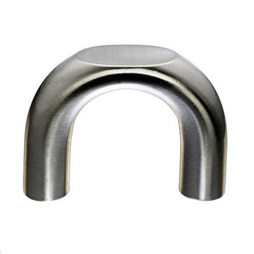 Top Knobs Nouveau Ii Ring Pull With Flat Front Edge