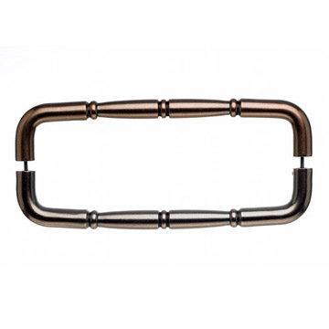 Top Knobs Nouveau Ring Back To Back Door Pull