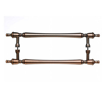 Top Knobs Somerset Finial Back To Back Door Pull