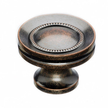 Top Knobs Somerset II Button Faced Knob