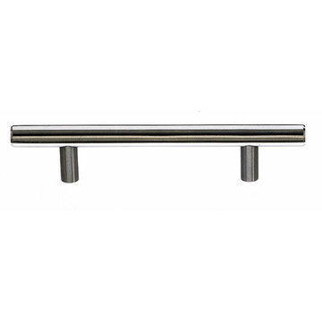 Top Knobs Stainless 1/2 Inch Diameter Hollow Bar Pull