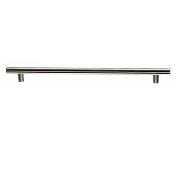 Top Knobs Stainless 9/16 Inch Diameter Hollow Bar Pull