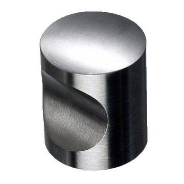 Top Knobs Stainless Indent Knob