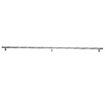 Top Knobs Stainless Solid 3-Post Bar Pull