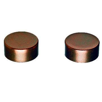 Top Knobs  Pull End Caps - Pair
