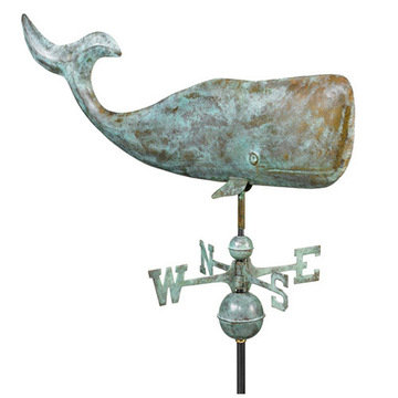 Good Directions 37 Inch Whale Full Size Standard Weathervane