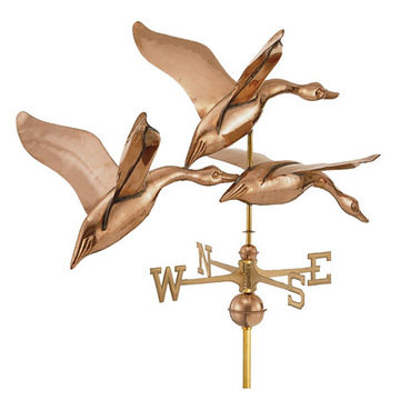 Good Directions 42 Inch 3 Geese In Flight Estate Signature Weathervane