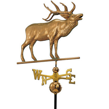 Good Directions Elk Full Size Standard Weathervane