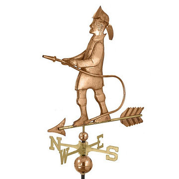 Good Directions Fireman Full Size Standard Weathervane