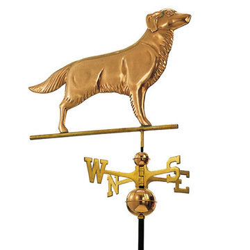 Good Directions Golden Retriever Full Size Standard Weathervane
