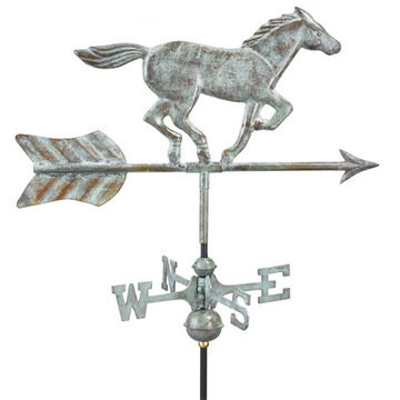Good Directions Horse Cottage Or Garden Weathervane