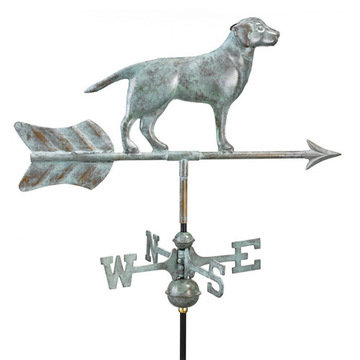Good Directions Labrador Retriever Cottage Or Garden Weathervane