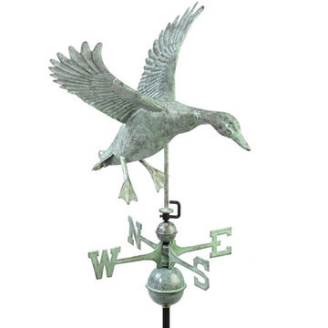 Good Directions Landing Duck Full Size Standard Weathervane