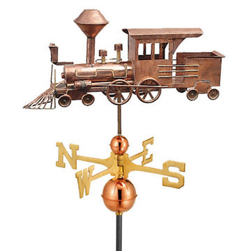 Good Directions Locomotive Full Size Standard Weathervane