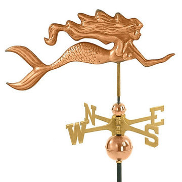 Good Directions Mermaid Full Size Standard Weathervane