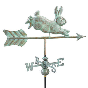 Good Directions Rabbit Cottage Or Garden Weathervane