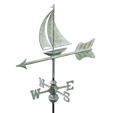 Good Directions Sailboat Cottage Or Garden Weathervane