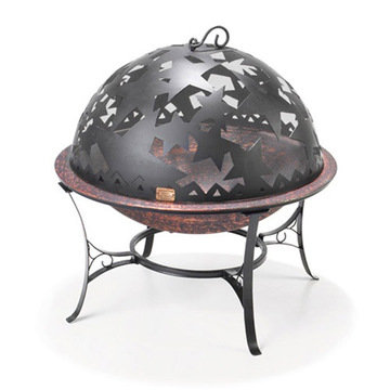 Good Directions Small Starry Night Fire Pit With Spark Screen