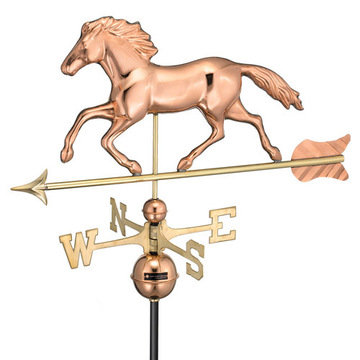 Good Directions Smithsonian Running Horse Full Size Standard Weathervane