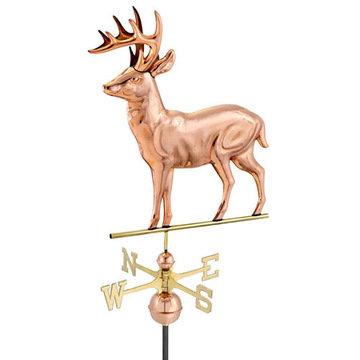 Good Directions Standing Deer Full Size Standard Weathervane