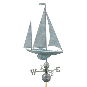 Good Directions Yawl Full Size Standard Weathervane